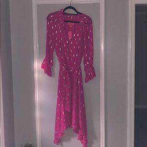 NWT Lilly Pulitzer Alyanna Silk Midi Dress